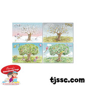 Seasons Jumbo Flash Cards Card Board