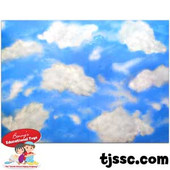 Sky Background Card Board