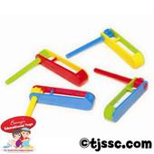 Tiny Plastic Noisemakers (48)