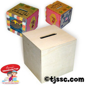 Tzedakah charity Pushka box DIY arts & crafts project