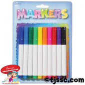 Glass and Ceramic Marker Set - Assorted Colors
