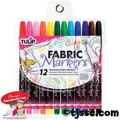 Multi 12 Pack Fabric Markers