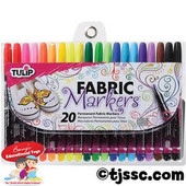Multi 20 Pack Fabric Markers