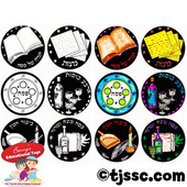 Passover Craft Stickers