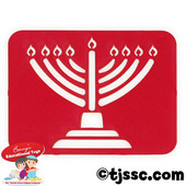 Laser-Cut Menorah Jeiwsh Tracing Stencil Set