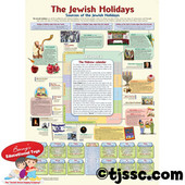 The Jewish Holidays Poster