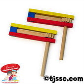 Traditional Wood Purim Gragger (as low as $1.65 in Bulk)