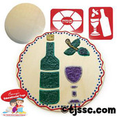 Shabbat / Passover Picture Centerpiece Kit