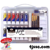 Royal Langnickel Acrylic Painting set - 21 pcs.