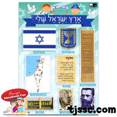 My Israel Card Stock Cutouts