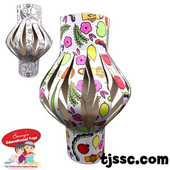 Paper Lampshade coloring Lantern
