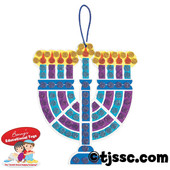 Mosaic Menorah Craft Kits