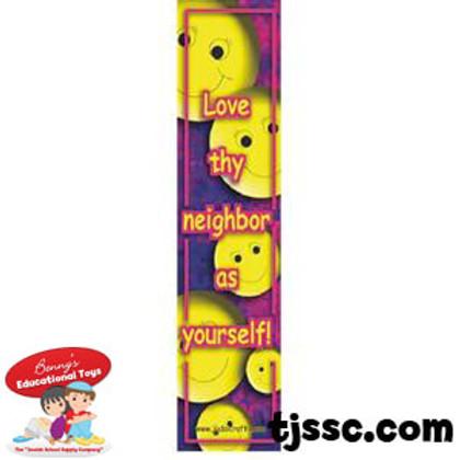 Love Thy Neighbor English Bookmark Card Stock