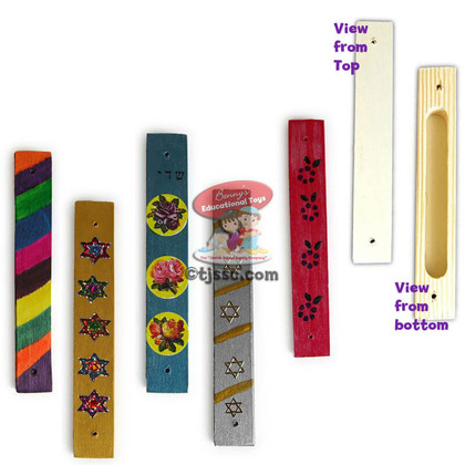 Wooden Mezuzah Cases for Decoration