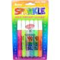 Glitter Glue Pens - Assorted Sparkle Colors - 10 Grams Each - 6 pieces