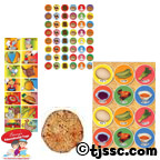 Passover Stickers