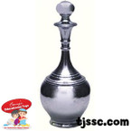 Decanter Silver colored Card Board Cutouts