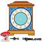 Shabbat Time for Shabbat clock Card Board