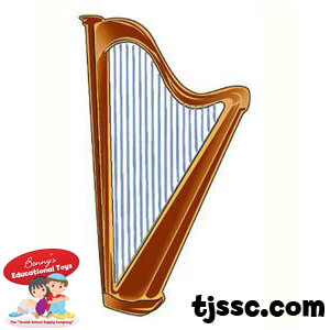 David's Harp Card Board