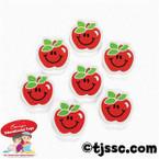 Apple erasers