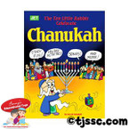 10 Little Rabbis Celebrate Chanukah Coloring Book