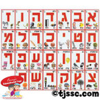 Hebrew Aleph Bet (Hebrew Alphabet) Picture Set