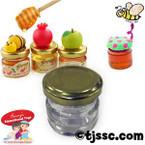 Empty Glass Jars for Honey