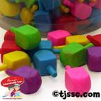 Medium Dreidel Erasers
