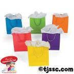 Medium Paper Neon Gift Bags