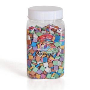 Israeli Mosaic stones Colorful Metalic