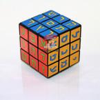 Colorful Hebrew Alphabet Rubik's Cube
