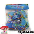 Chanukah Menorah Self-Adhesive Foam Shapes