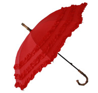 Child's Fifi Red Umbrella Side