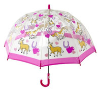 Child's Pony's Umbrella Front