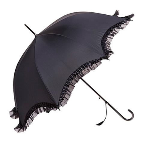 Gigi Black Umbrella  Side