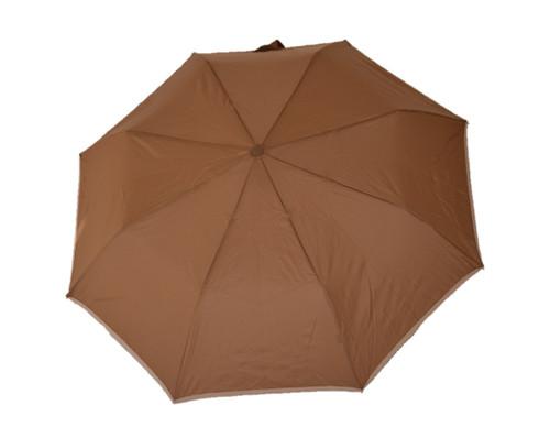 Compact Chocolate Umbrella Front