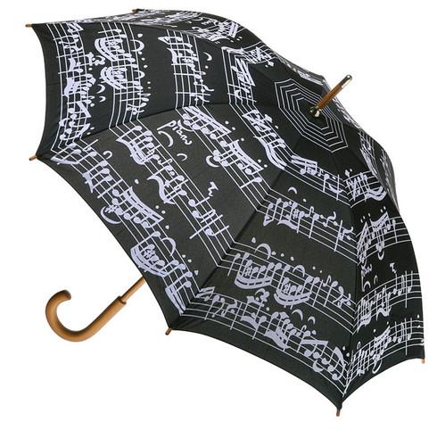 Music Notes Umbrella Full Length