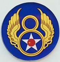 Mighty 8th Emblem Magnet
