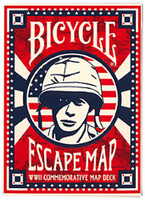 Escape Map Playing Cards - Bicycle