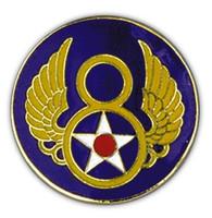 8th Air Force Lapel Pin