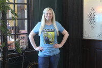 Rosie the Riveter T-Shirt Denim