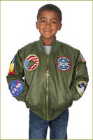 Youth Aviation Flight Jacket