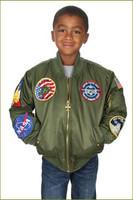Youth Aviation Flight Jacket