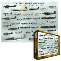 World War II Aircraft Jigsaw Puzzle - 1000 Pieces