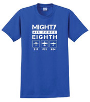 Youth Plane Mighty 8th T-Shirt