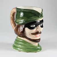 "WWII ""Toby"" Jug"