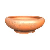 """9 1/2"""" Round Bigei Tokoname Pot (TK-07)"""