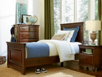 Taylor Panel Bed - Cherry
