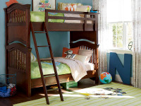 Taylor Bunk Bed - Cherry