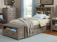 Seaview Bookcase Bed Twin